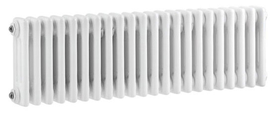 Ultra Colosseum Triple Column Radiator 300 x 1011mm - White - HX303 Large Image