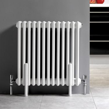 Ultra Colosseum Triple Column Radiator 600 x 606mm - White - HX304 profile large image view 2