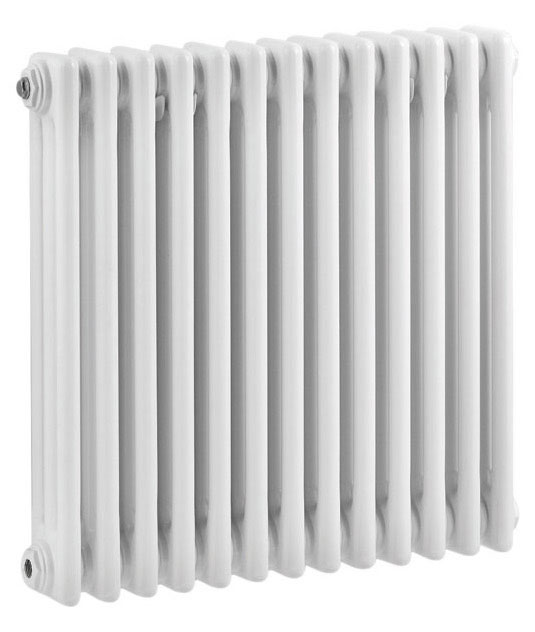 Ultra Colosseum Triple Column Radiator 600 x 606mm - White - HX304 Large Image