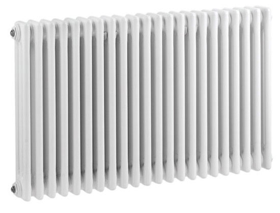 Ultra Colosseum Triple Column Radiator 600 x 1011mm - White - HX306 Large Image