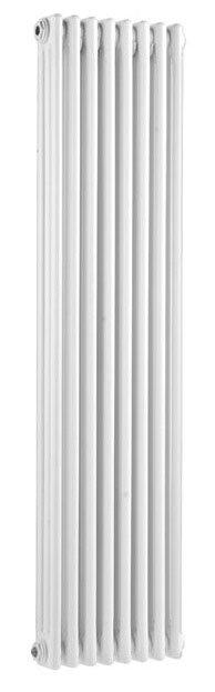 Ultra Colosseum Triple Column Radiator 1500 x 381mm - White - HX309 Large Image