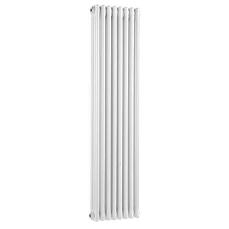 Ultra Colosseum Triple Column Radiator 1500 x 381mm - White - HX309