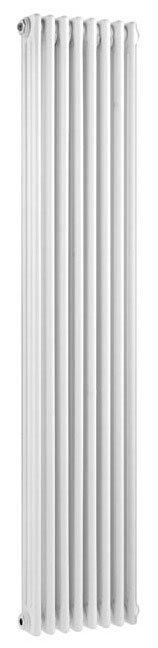 Ultra Colosseum Triple Column Radiator 1800 x 381mm - White - HX312 Large Image