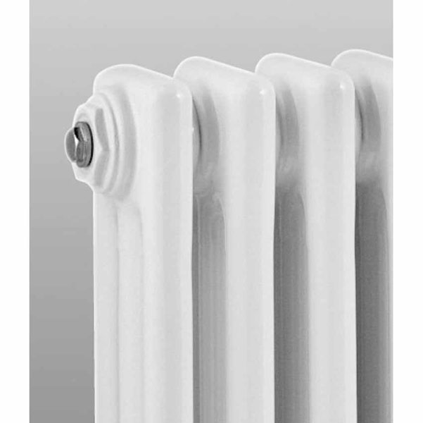 Ultra Colosseum Triple Column Radiator 1500 x 291mm - White - HX308 profile large image view 3