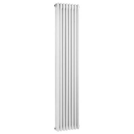Ultra Colosseum Triple Column Radiator 1800 x 381mm - White - HX312