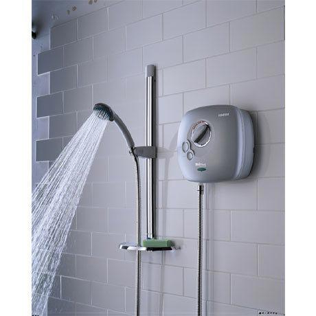 Bristan - Hydropower 1500 Thermostatic Power Shower - White - HY-POWSHX-W