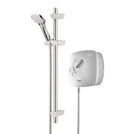 Bristan - Hydropower 1500 Thermostatic Power Shower - White - HY-POWSHX-W