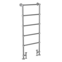 Hamilton Floor Mounted Towel Rail 1550 x 600mm - Chrome Medium Image