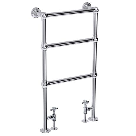 Hamilton Traditional 949 x 498mm Chrome Towel Rail