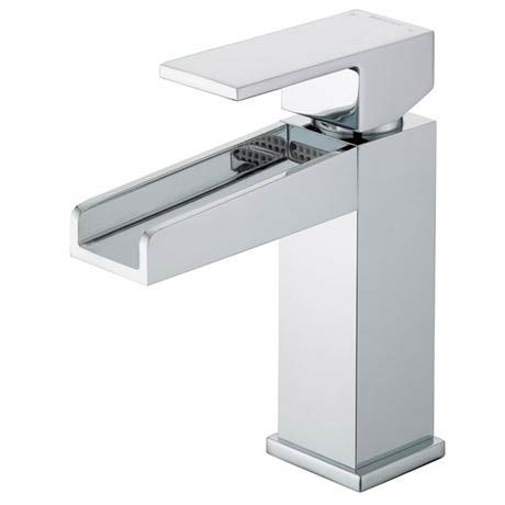 Bristan Hampton Contemporary Basin Mixer (no waste) - Chrome - HA-BASNW-C