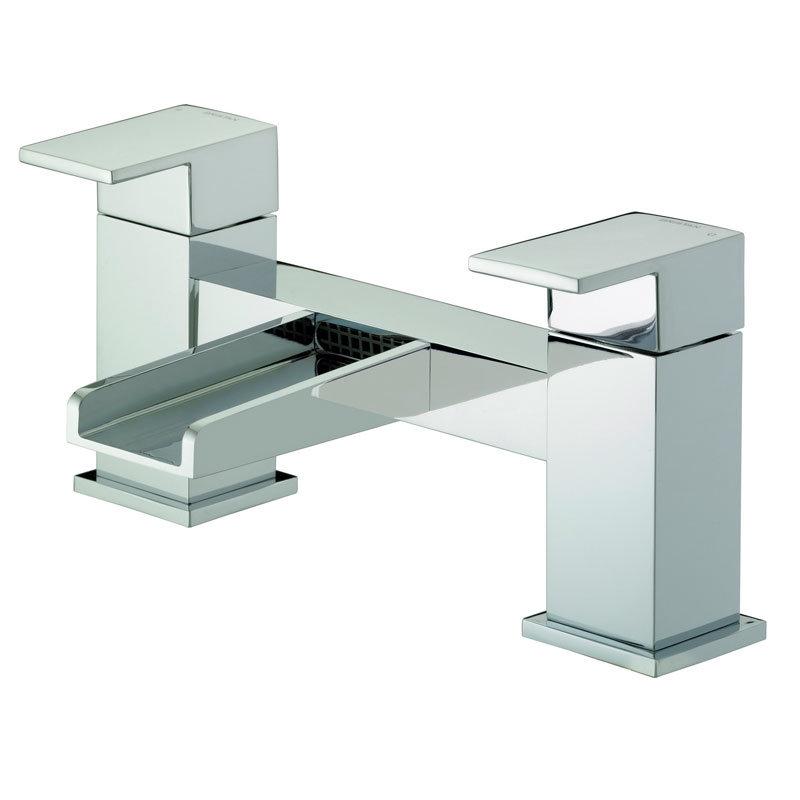 Bristan Hampton Contemporary Bath Filler - Chrome - HA-BF-C