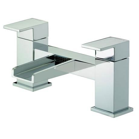 Bristan Hampton Contemporary Bath Filler - Chrome - HA-BF-C