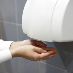 Commercial Hot Air Hand Dryers