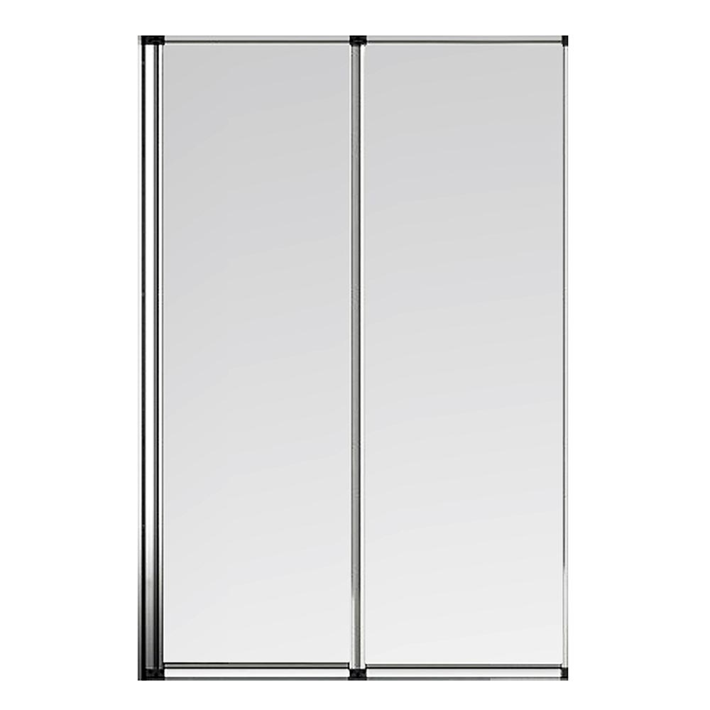 Haro Folding Bath Screen (800mm Wide - 2 Fold Concertina) profile large image view 2