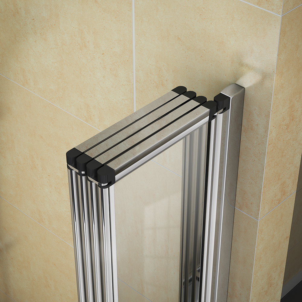 Haro Folding Bath Screen (800mm Wide - 4 Fold Concertina) Feature Large Image