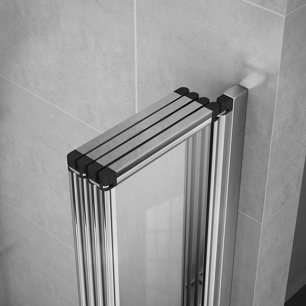 Haro Folding Bath Screen (900mm Wide - 4 Fold Concertina) profile large image view 3