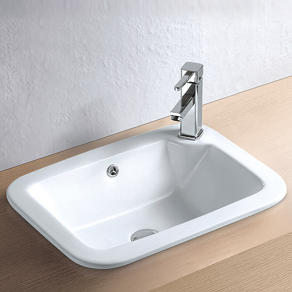 Havana Inset Basin 1TH - 540 x 400mm Large Image