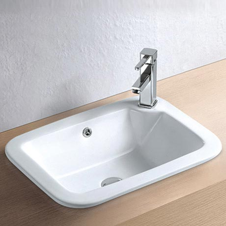 Havana Inset Basin 1TH - 540 x 400mm