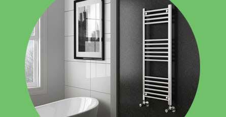 Bathroom Heating Towel Rails Radiators – Heated Towel Rails for Bathrooms
