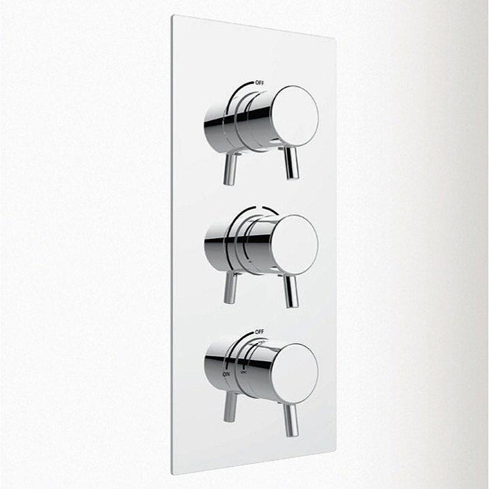 Heritage - Orbit Dual Control Shower Valve w Integral Two Outlet Diverter Large Image