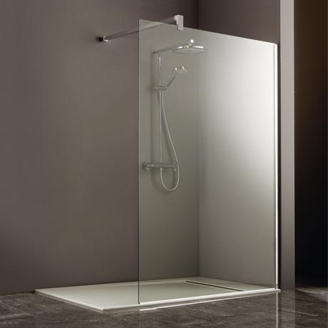 Heritage 8mm Linear Wet Room Screen - Various Sizes