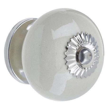 Heritage Ceramic Door Knob Cream - FKNCE01