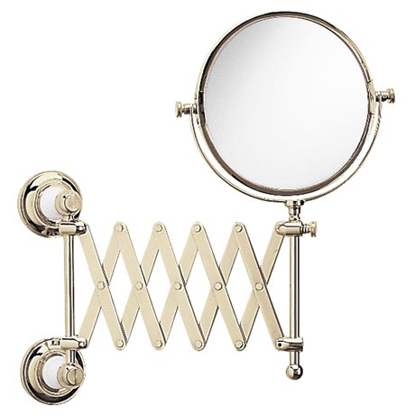 Heritage - Clifton Extendable Mirror - Vintage Gold - ACA16