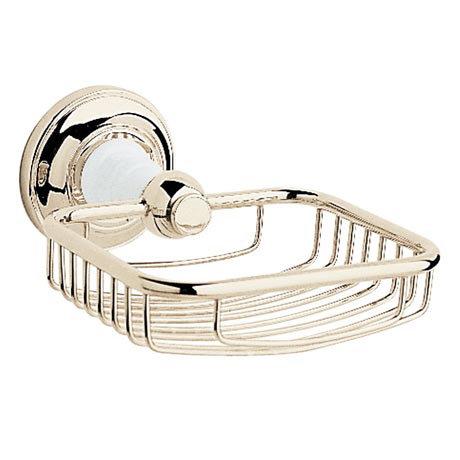 Heritage - Clifton Soap Basket - Vintage Gold - ACA14