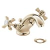 Heritage - Dawlish Mono Basin Mixer with Pop-up Waste - Vintage Gold - TDCG04 Medium Image