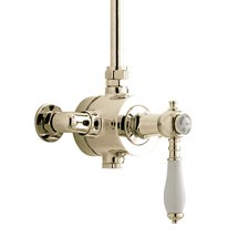 Heritage - Glastonbury Single Control Exposed Valve With Top Outlet - Vintage Gold Medium Image