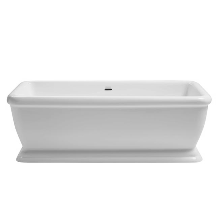 Heritage Hadleigh Double Ended Square Roll Top Bath (1780x800mm) Large Image