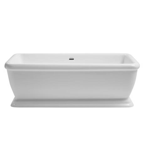 Heritage Hadleigh Double Ended Square Roll Top Bath (1780x800mm)