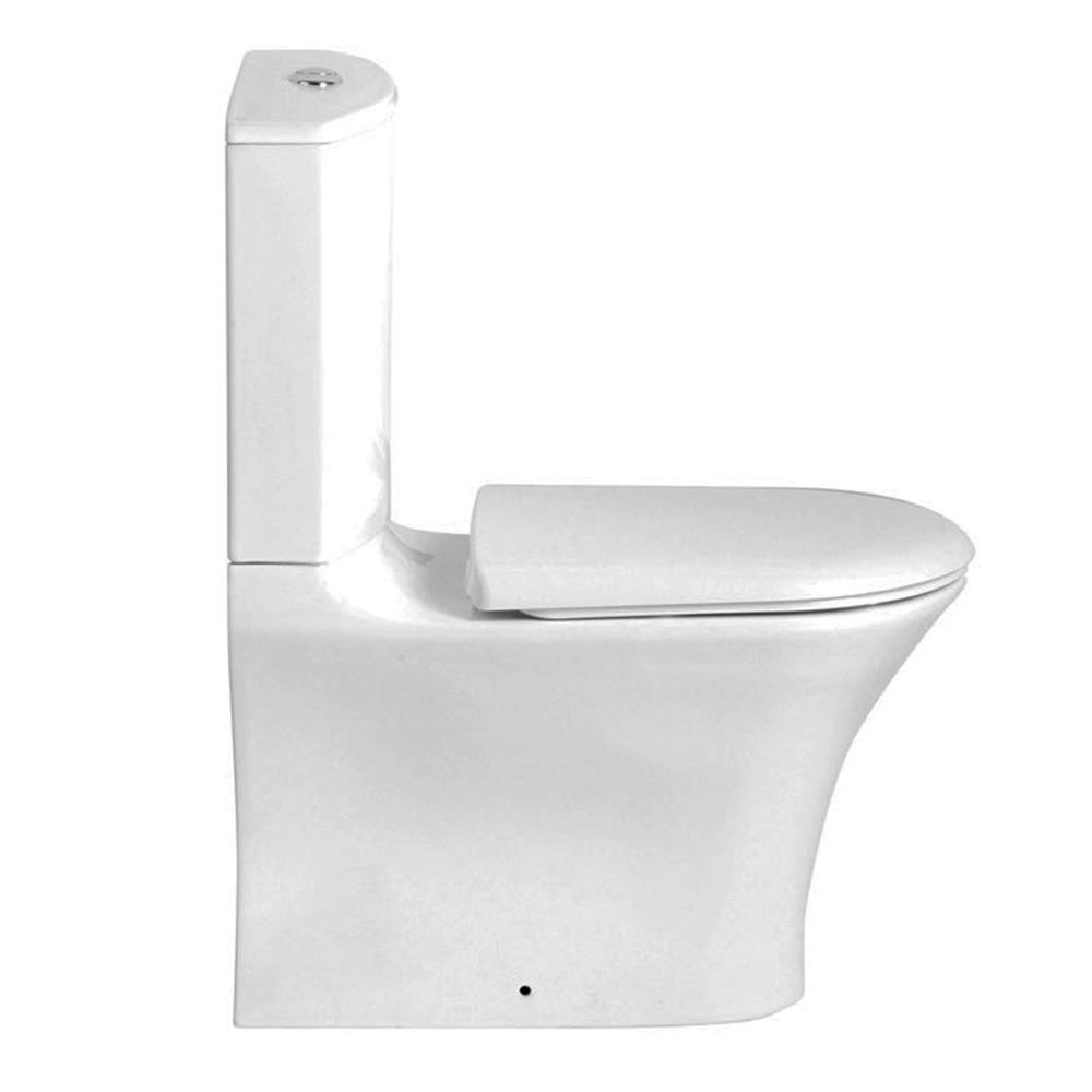 Heritage Kharine Back to Wall Toilet inc Soft Close Seat Feature Large Image