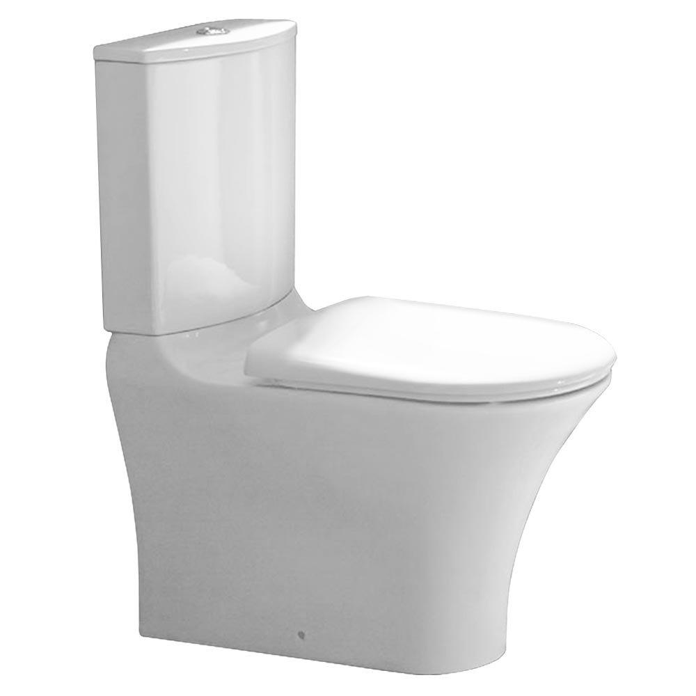 Heritage Kharine Back to Wall Toilet inc Soft Close Seat Large Image