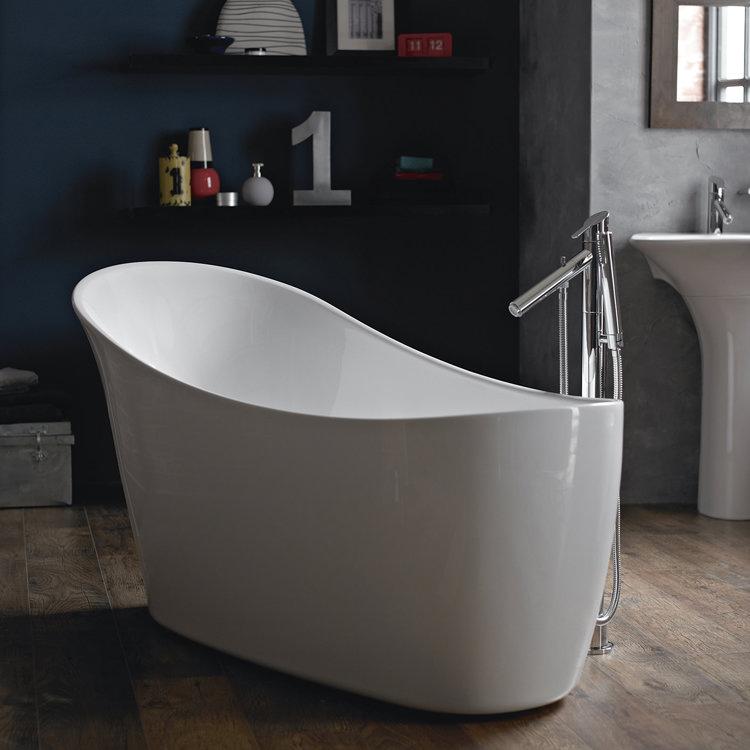 Heritage Kharine Freestanding Slipper Bath (1590x700mm) Profile Large Image