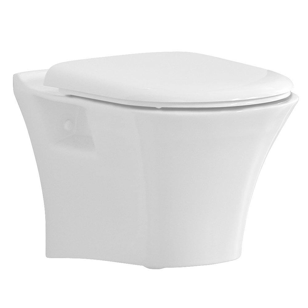 Heritage Kharine Wall Hung Toilet with Concealed WC Cistern & Wall Hung Frame profile large image view 2