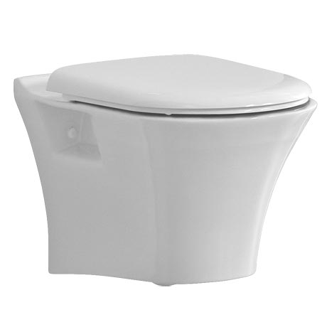 Heritage Kharine Wall Hung WC Pan + Soft Close Seat