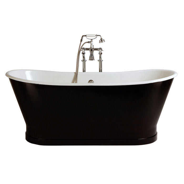 Heritage Madeira Double Ended Cast Iron Bath (1700x695mm) profile large image view 2