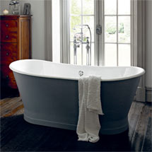 Heritage Madeira Double Ended Cast Iron Bath (1700x695mm) Medium Image