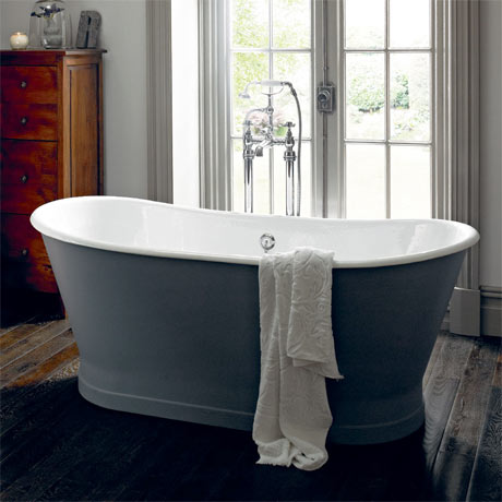Heritage Madeira Double Ended Cast Iron Bath (1700x695mm)