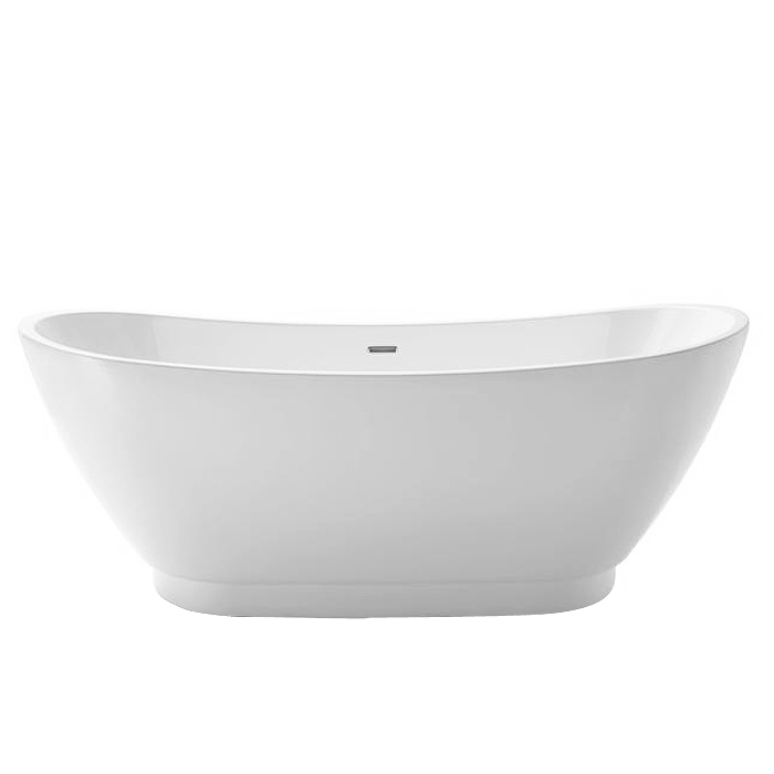 Heritage Merrivale Double Ended Slipper Bath (1760x680mm) profile large image view 1