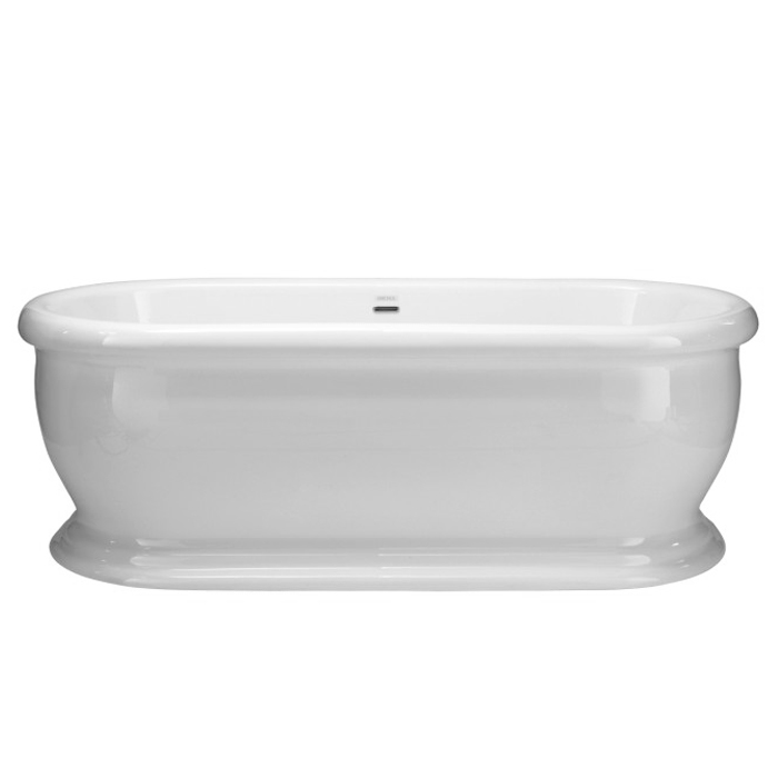 Heritage New Victoria Double Ended Roll Top Bath (1745x790mm) profile large image view 1