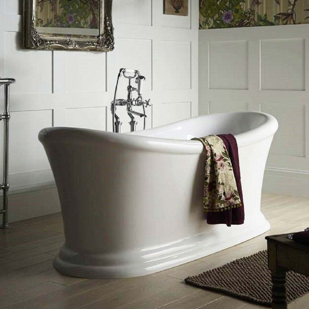 Heritage Orford Double Ended Slipper Roll Top Bath (1700x740mm) profile large image view 1