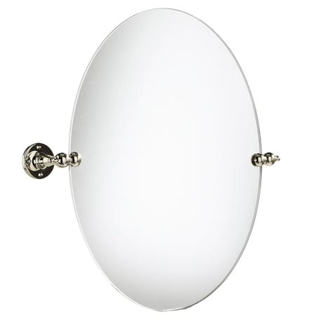 Heritage - Oval Swivel Mirror - Vintage Gold - AHA17