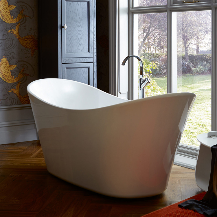 Heritage Penhallam Double Ended Slipper Bath (1700x700mm) profile large image view 2