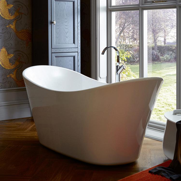 Heritage Penhallam Double Ended Slipper Bath (1700x700mm) Profile Large Image