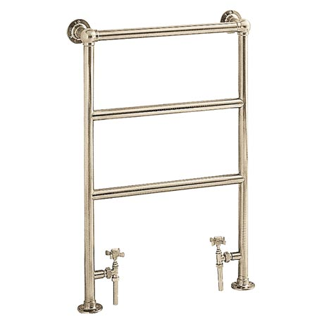 Heritage - Portland Heated Towel Rail - Vintage Gold - AHA76