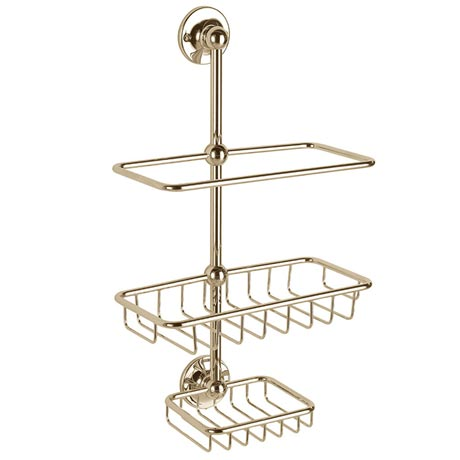 Heritage - Shower Tidy - Vintage Gold - AHA19