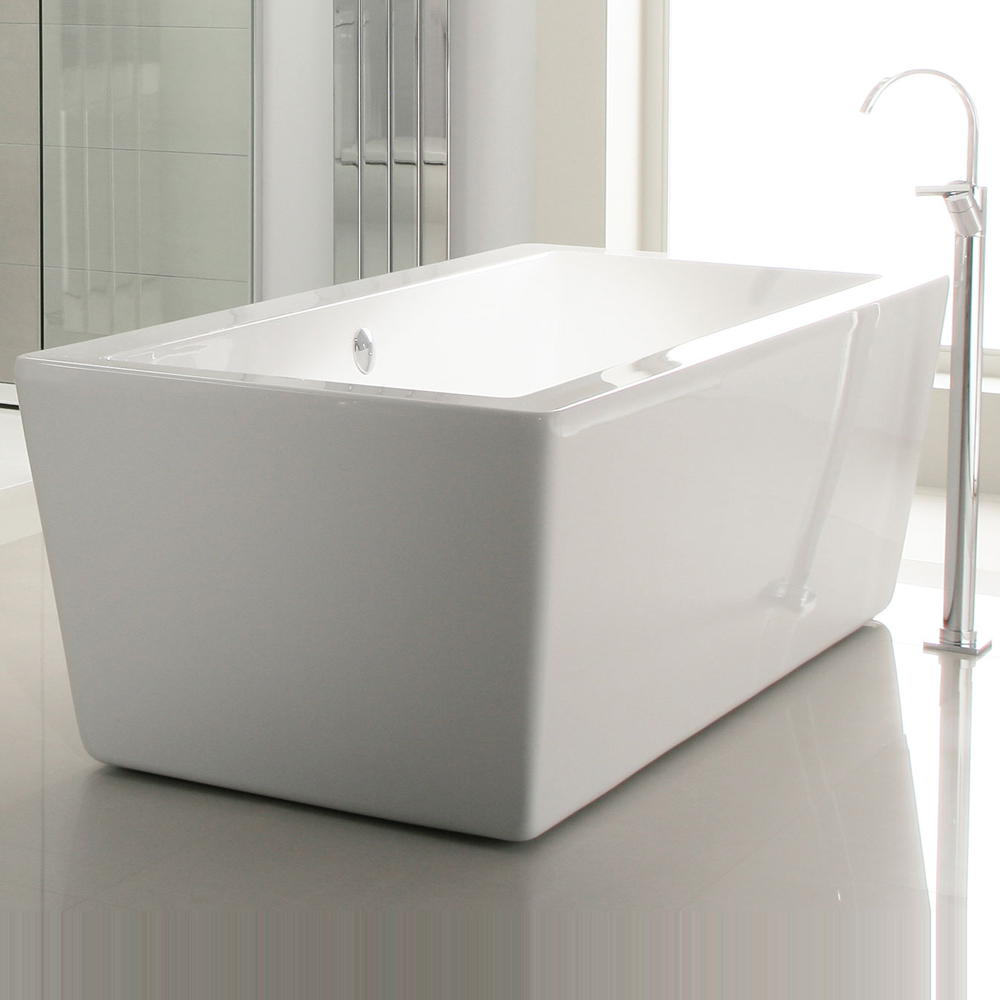 Heritage Sonic Square Modern Bath (1730x780mm) Profile Large Image