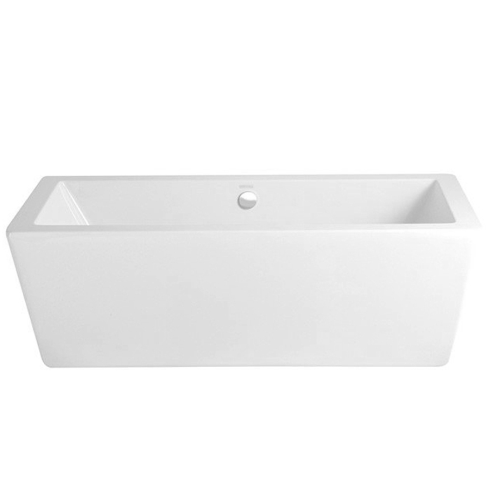 Heritage Sonic Square Modern Bath (1730x780mm) Large Image